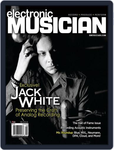 Electronic Musician (Digital) July 24th, 2012 Issue Cover