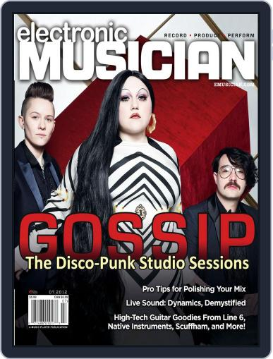 Electronic Musician (Digital) June 19th, 2012 Issue Cover