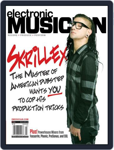 Electronic Musician (Digital) February 23rd, 2012 Issue Cover