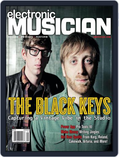 Electronic Musician (Digital) December 6th, 2011 Issue Cover