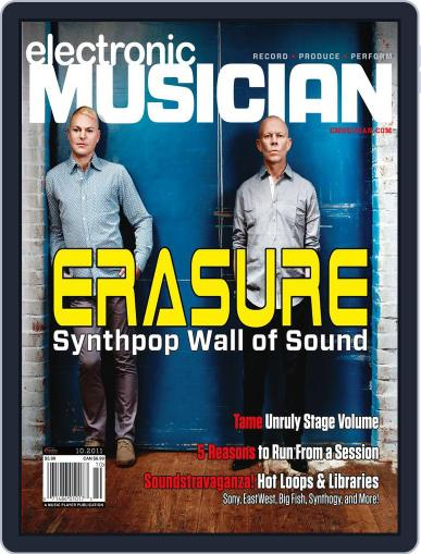 Electronic Musician (Digital) September 9th, 2011 Issue Cover