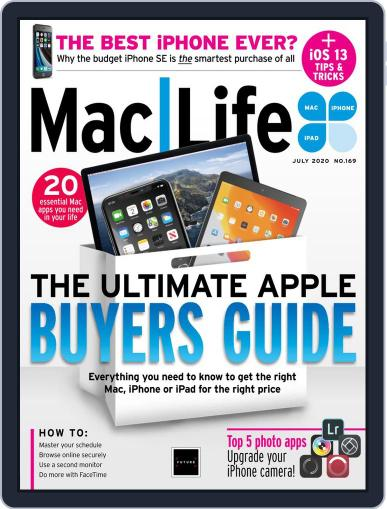 MacLife July 1st, 2020 Digital Back Issue Cover