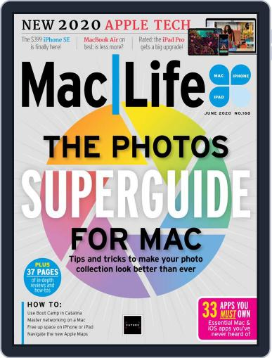 MacLife June 1st, 2020 Digital Back Issue Cover