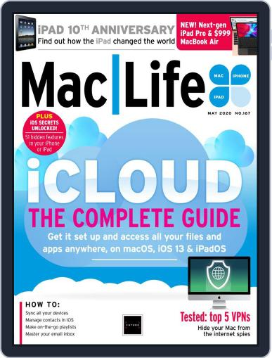 MacLife May 1st, 2020 Digital Back Issue Cover
