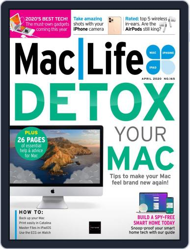 MacLife April 1st, 2020 Digital Back Issue Cover