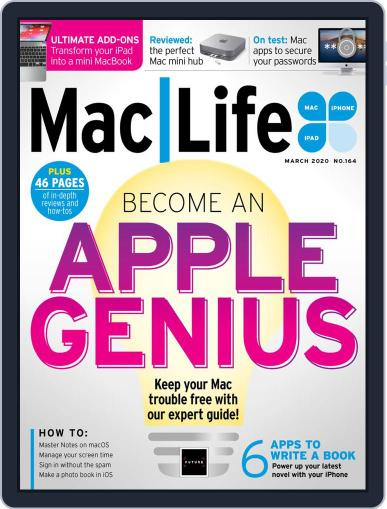 MacLife March 1st, 2020 Digital Back Issue Cover