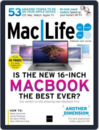 MacLife February 1st, 2020 Digital Back Issue Cover