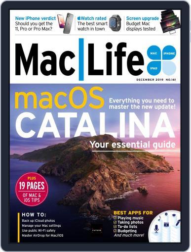 MacLife December 1st, 2019 Digital Back Issue Cover