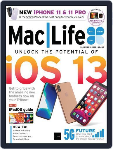 MacLife November 1st, 2019 Digital Back Issue Cover