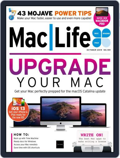 MacLife October 1st, 2019 Digital Back Issue Cover