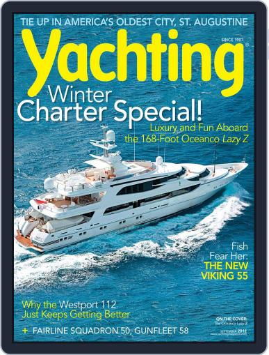 Yachting (Digital) August 18th, 2012 Issue Cover