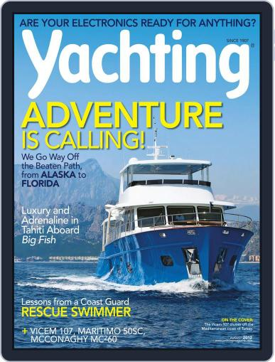 Yachting (Digital) July 21st, 2012 Issue Cover