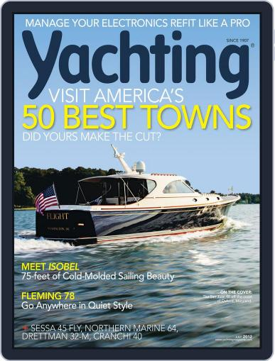 Yachting (Digital) June 16th, 2012 Issue Cover