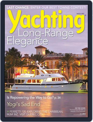 Yachting (Digital) April 14th, 2012 Issue Cover
