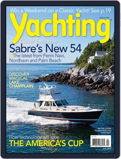 Yachting (Digital) March 17th, 2012 Issue Cover