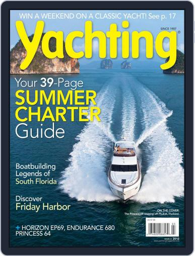 Yachting (Digital) February 18th, 2012 Issue Cover