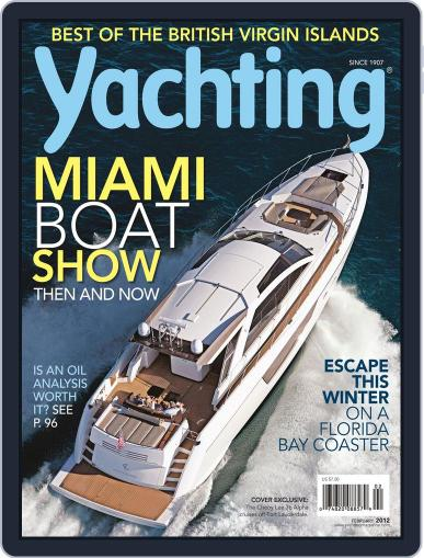 Yachting (Digital) January 21st, 2012 Issue Cover