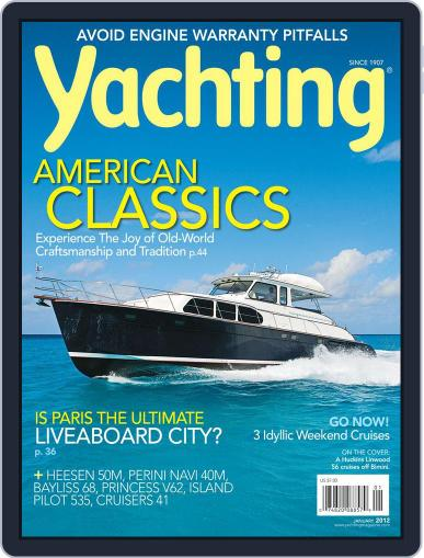 Yachting (Digital) December 17th, 2011 Issue Cover