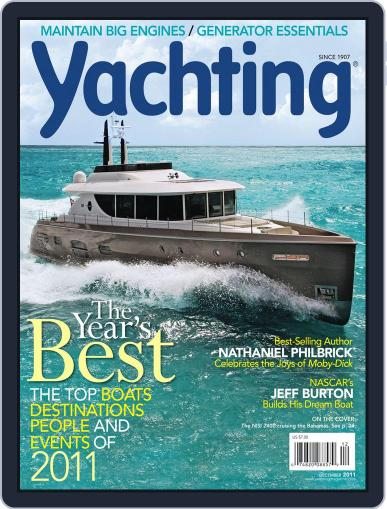 Yachting (Digital) November 19th, 2011 Issue Cover