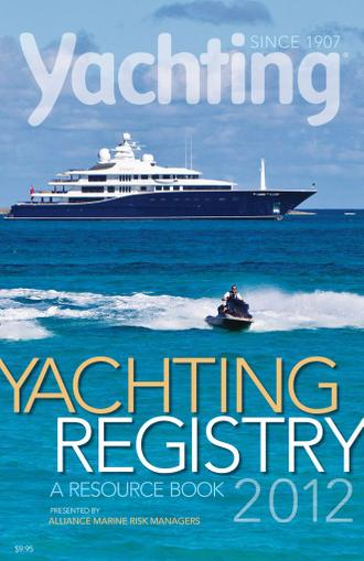 Yachting (Digital) October 17th, 2011 Issue Cover