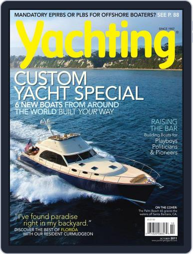 Yachting (Digital) September 20th, 2011 Issue Cover