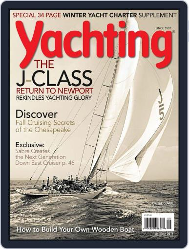 Yachting (Digital) August 20th, 2011 Issue Cover
