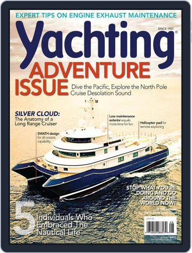 Yachting (Digital) July 16th, 2011 Issue Cover