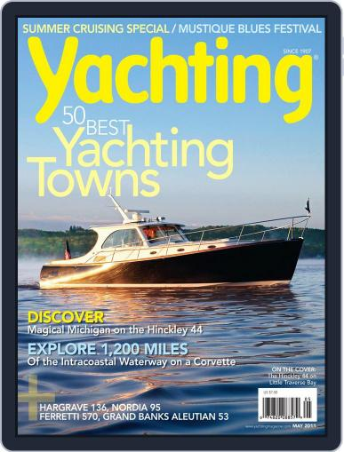 Yachting (Digital) April 19th, 2011 Issue Cover