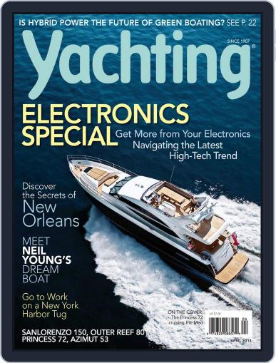 Yachting (Digital) March 13th, 2011 Issue Cover