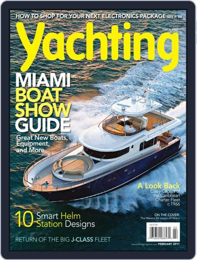 Yachting (Digital) January 15th, 2011 Issue Cover