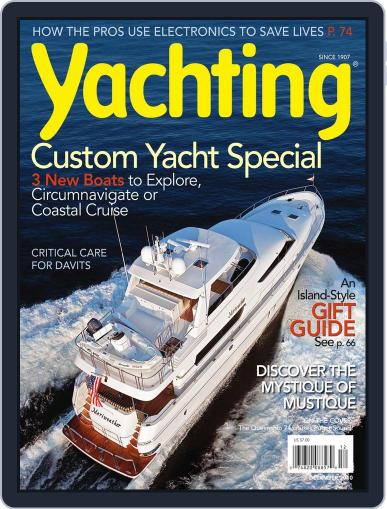 Yachting (Digital) November 13th, 2010 Issue Cover