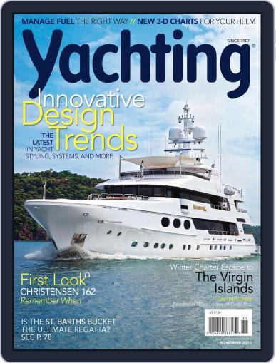 Yachting (Digital) October 22nd, 2010 Issue Cover