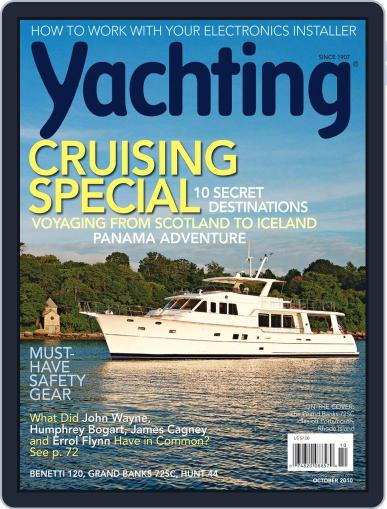 Yachting (Digital) September 18th, 2010 Issue Cover