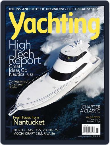 Yachting (Digital) June 19th, 2010 Issue Cover