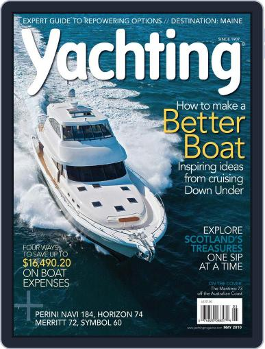 Yachting (Digital) April 17th, 2010 Issue Cover