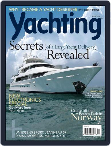 Yachting (Digital) March 22nd, 2010 Issue Cover
