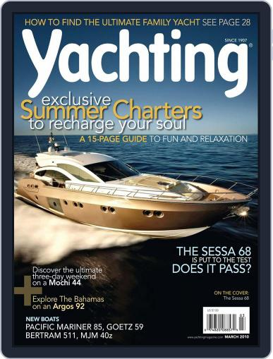 Yachting (Digital) February 13th, 2010 Issue Cover
