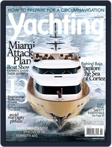 Yachting (Digital) January 16th, 2010 Issue Cover