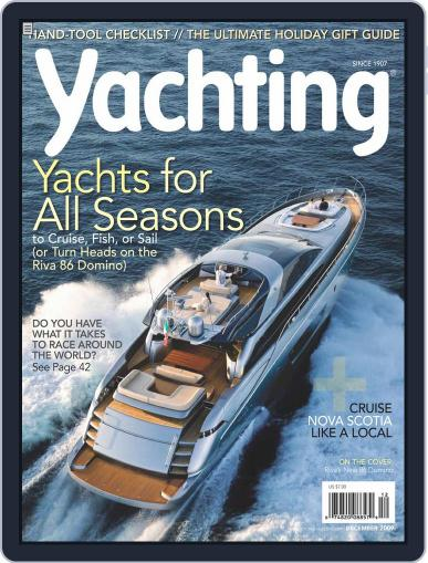 Yachting (Digital) November 30th, 2009 Issue Cover