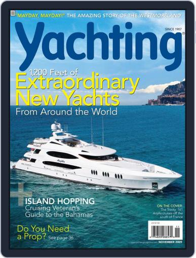 Yachting (Digital) October 23rd, 2009 Issue Cover