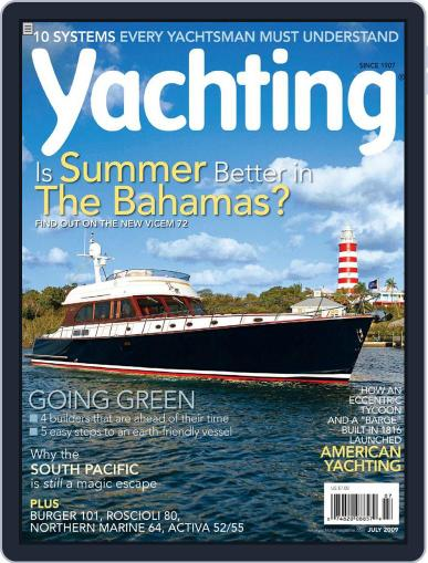 Yachting (Digital) June 20th, 2009 Issue Cover