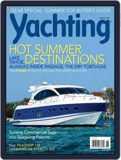 Yachting (Digital) May 16th, 2009 Issue Cover