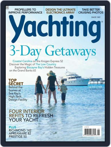 Yachting (Digital) April 21st, 2009 Issue Cover