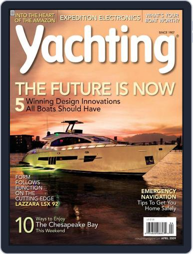 Yachting (Digital) March 21st, 2009 Issue Cover