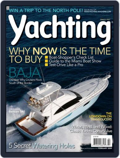 Yachting (Digital) January 17th, 2009 Issue Cover
