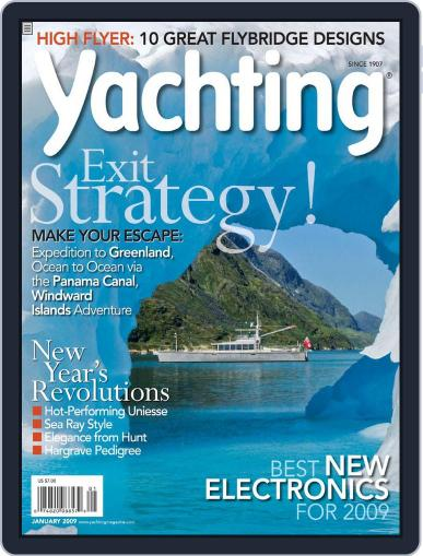 Yachting (Digital) December 20th, 2008 Issue Cover