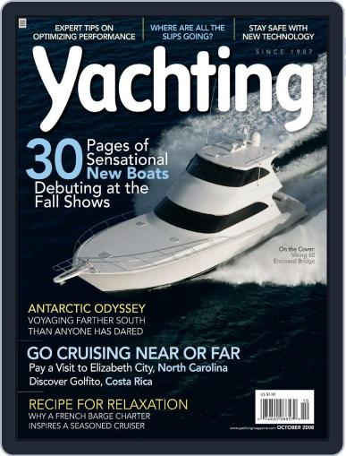 Yachting (Digital) September 17th, 2008 Issue Cover
