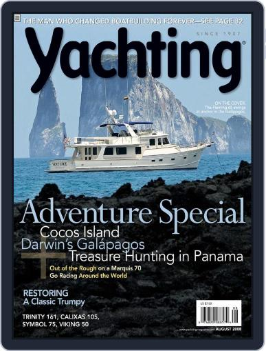Yachting (Digital) July 25th, 2008 Issue Cover