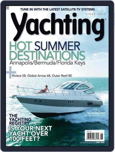 Yachting (Digital) June 2nd, 2008 Issue Cover