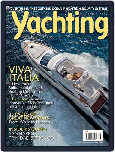 Yachting (Digital) May 19th, 2008 Issue Cover